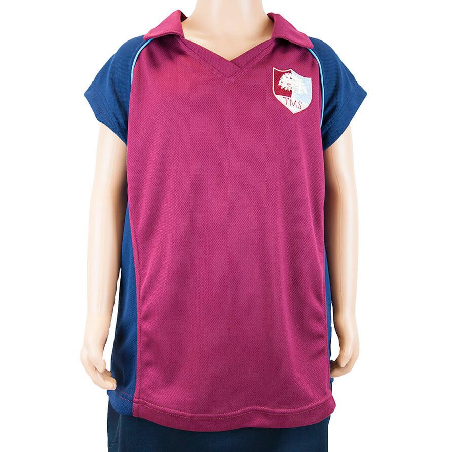 Tockington Manor School Netball/Hockey Shirt