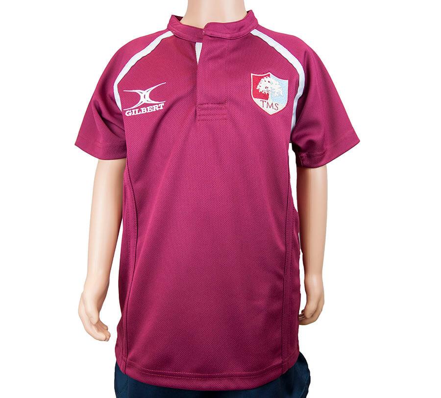 Tockington Manor School Rugby training shirt
