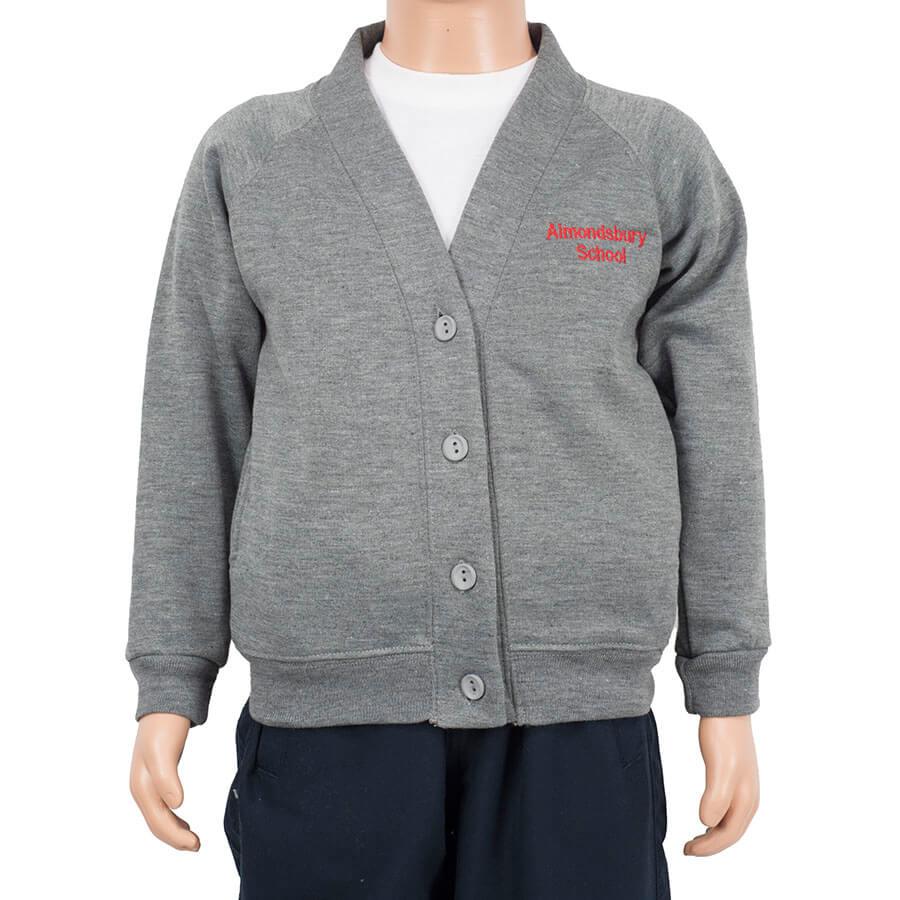 Almondsbury grey cardigan