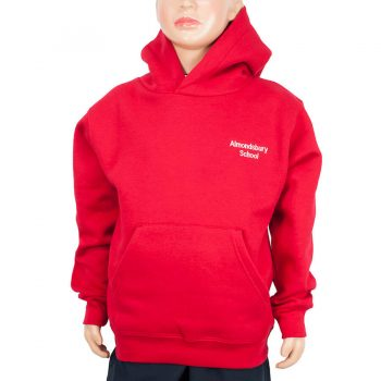 Almondsbury red hoody