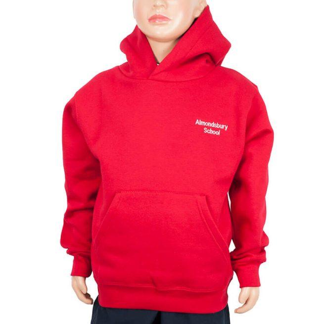 Almondsbury red hoody