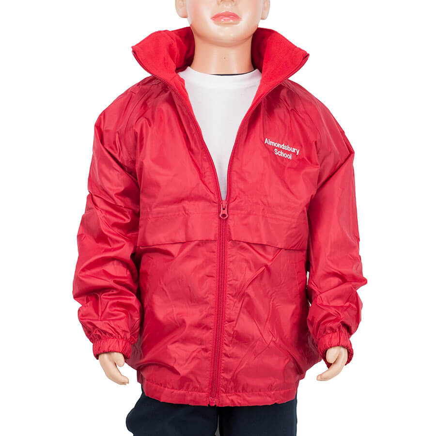 Almondsbury red reversible jacket