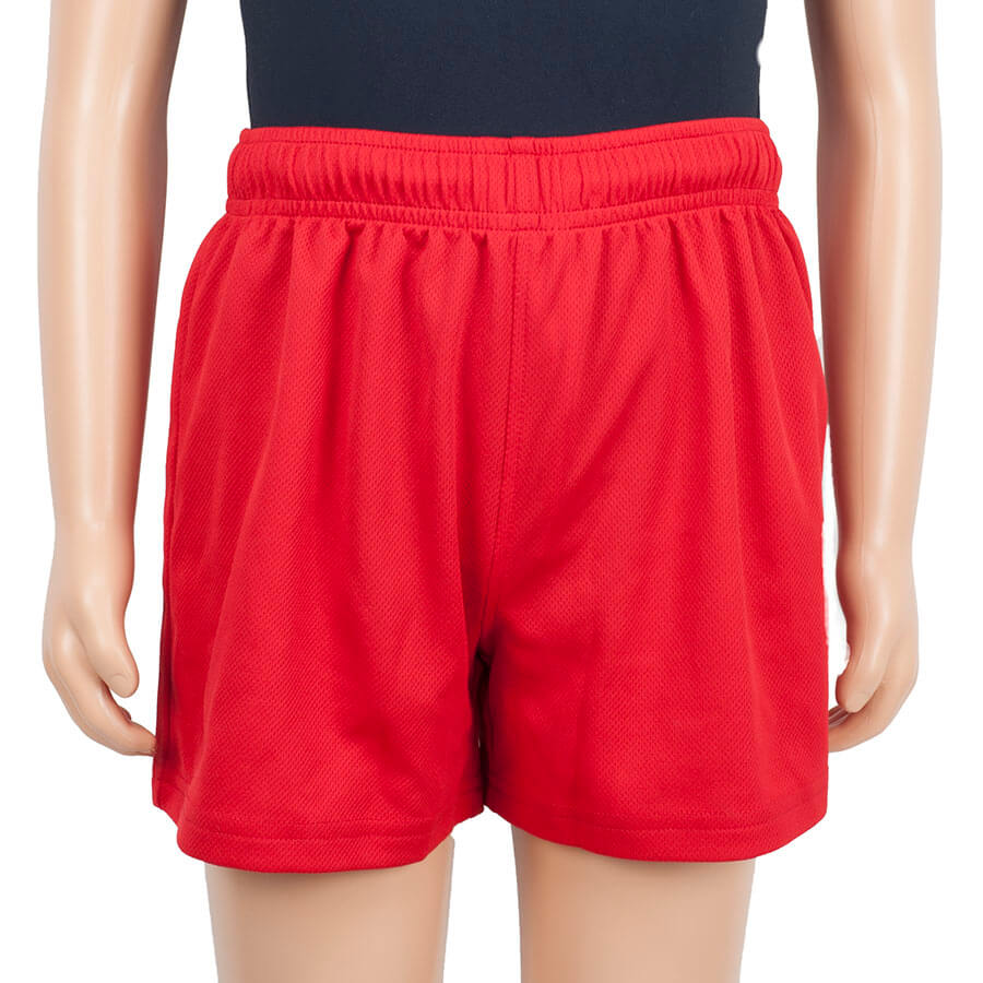 Almondsbury red shorts