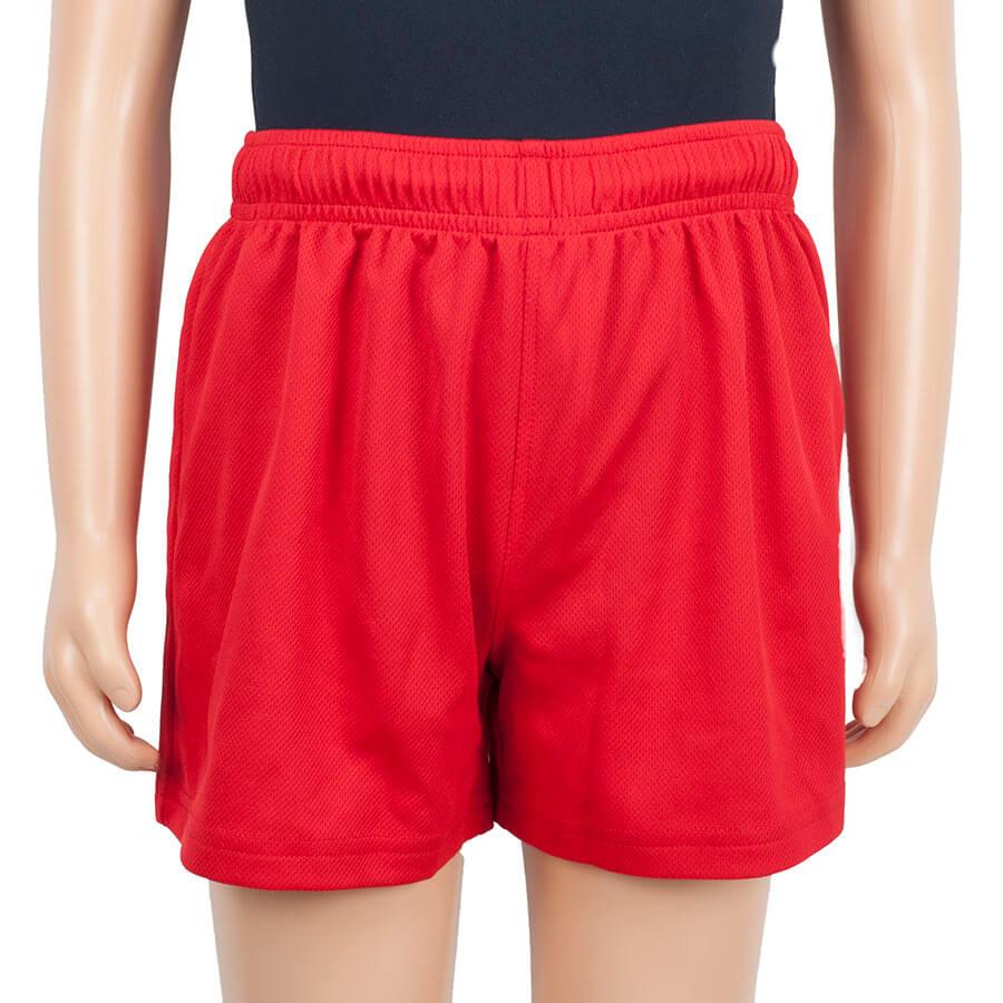 Almondsbury red shorts