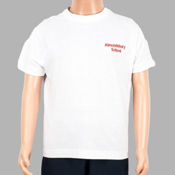 Almondsbury white t-shirt