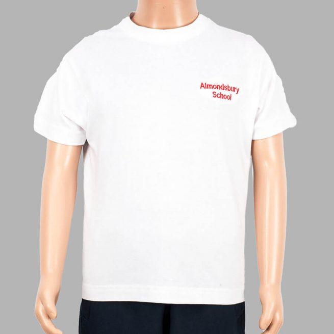 Almondsbury white t-shirt
