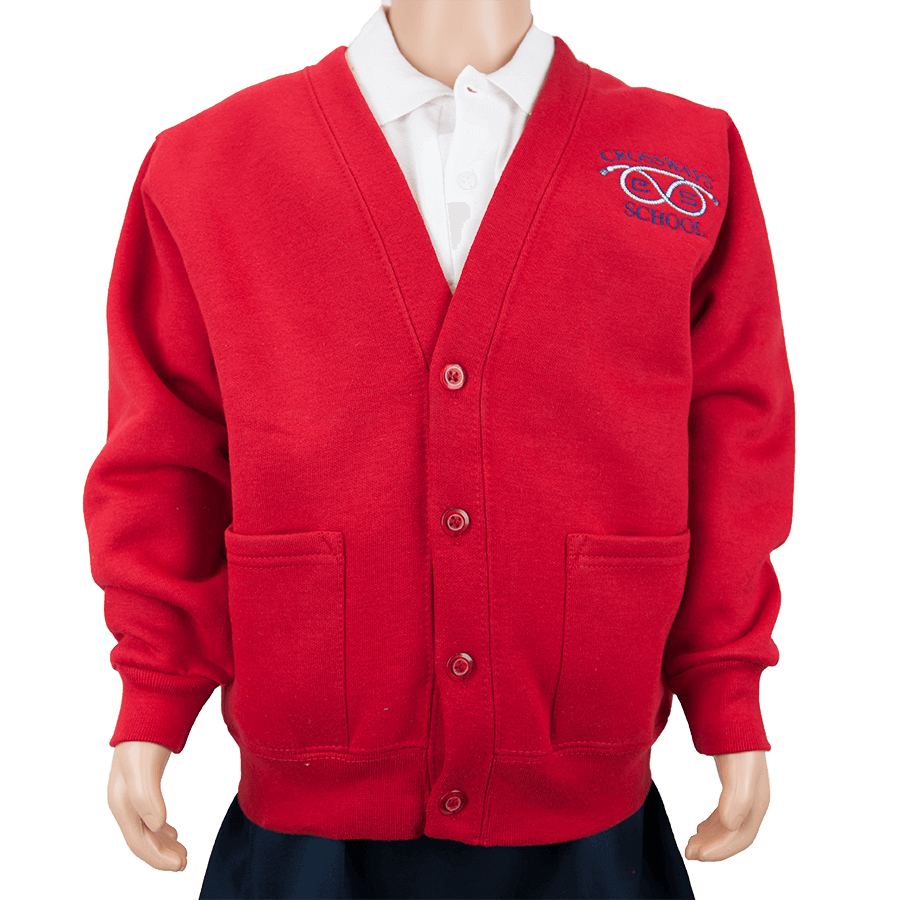Crossways Red Cardigan