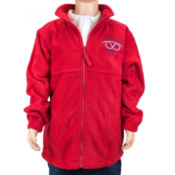 Crossways Red Fleece