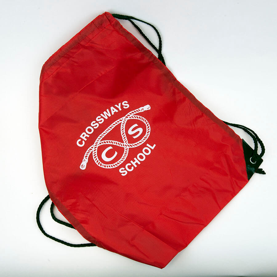Crossways Red P.E. Bag
