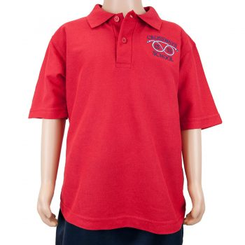 Crossways Red Polo shirt