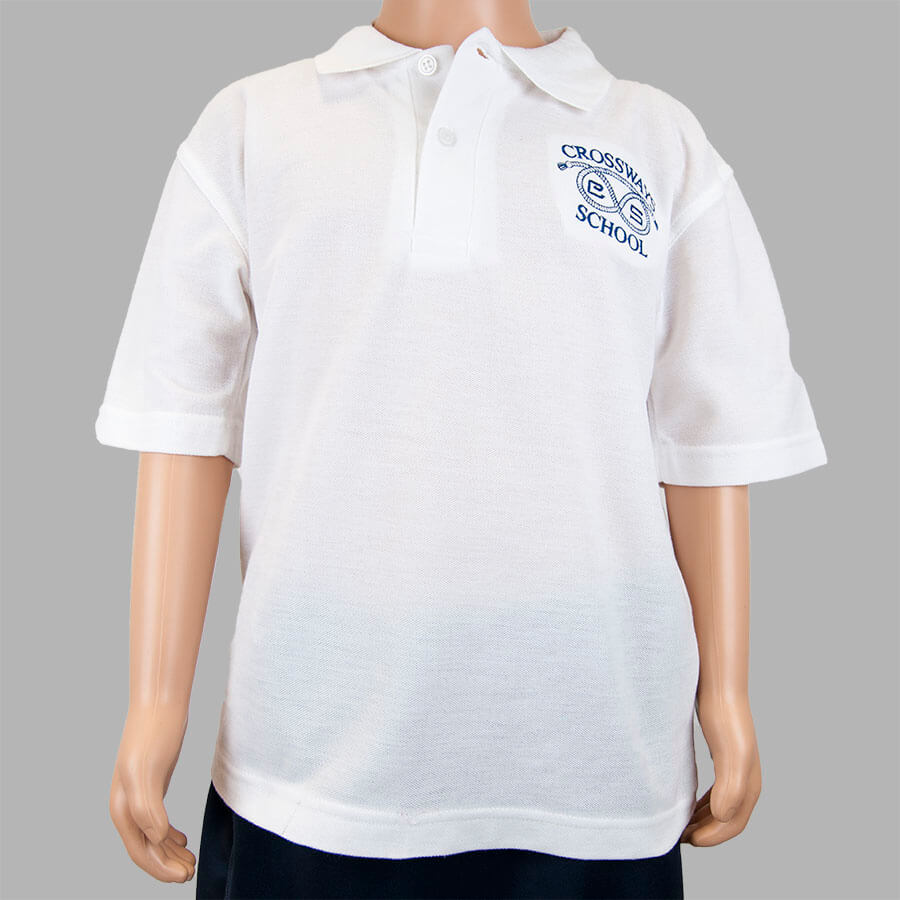 Crossways White Polo shirt