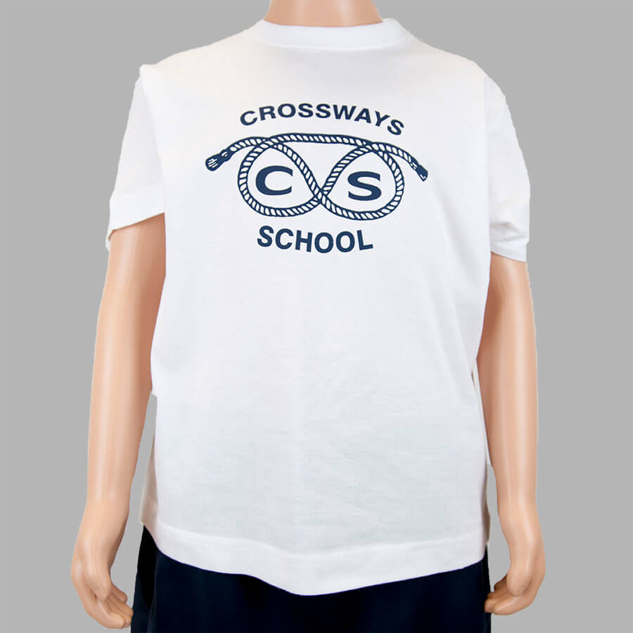 Crossways White T-shirt