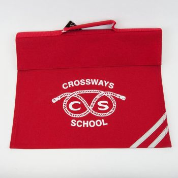 Crossways Red Book Bag