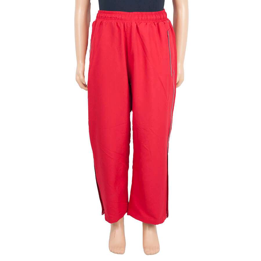 Almondsbury School red track pants