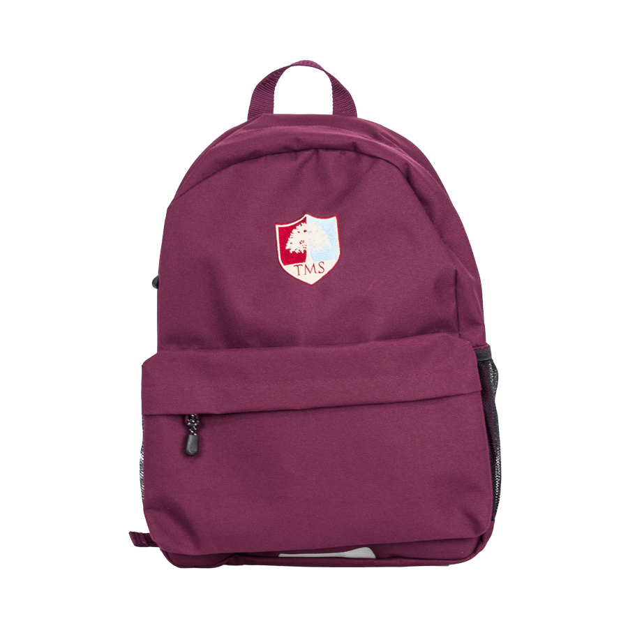 Tockington Manor School Backpack ages 3 to 4 Front
