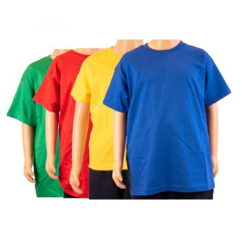 Olveston coloured T-shirts