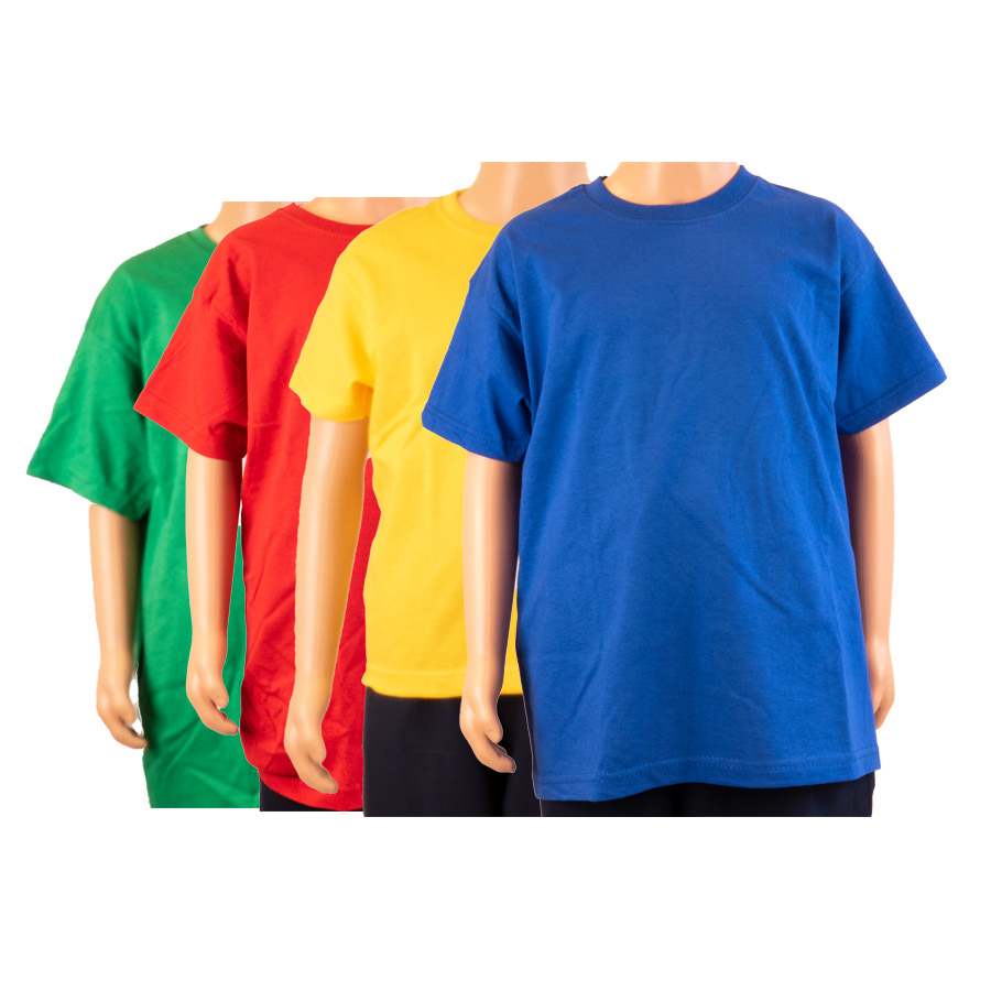 Olveston coloured T-shirts