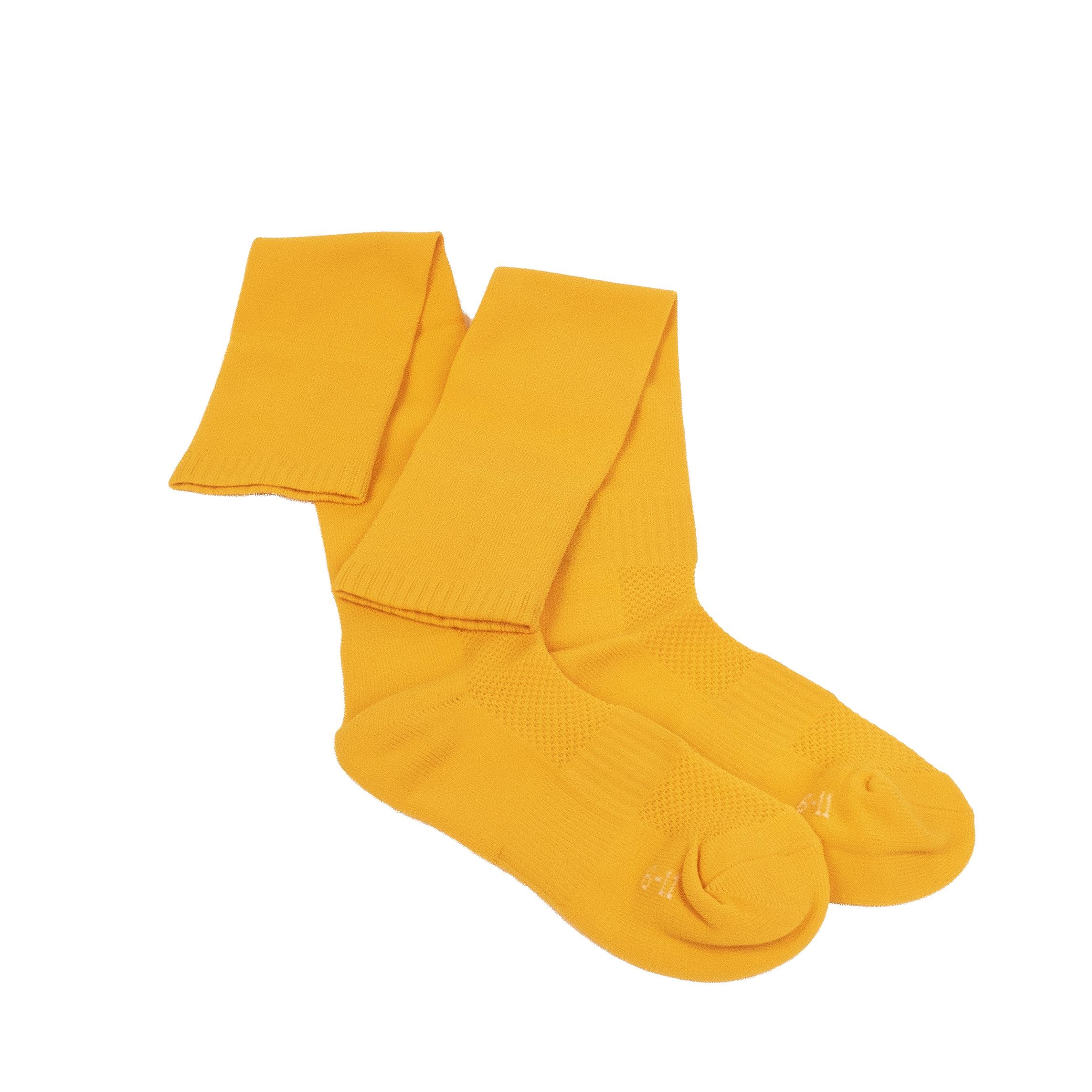 Caste School gold socks flat