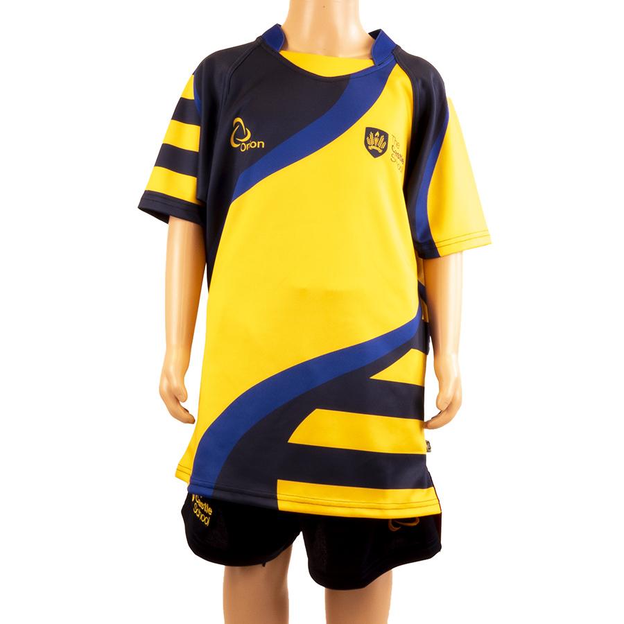 Castle School boys rugby shirt