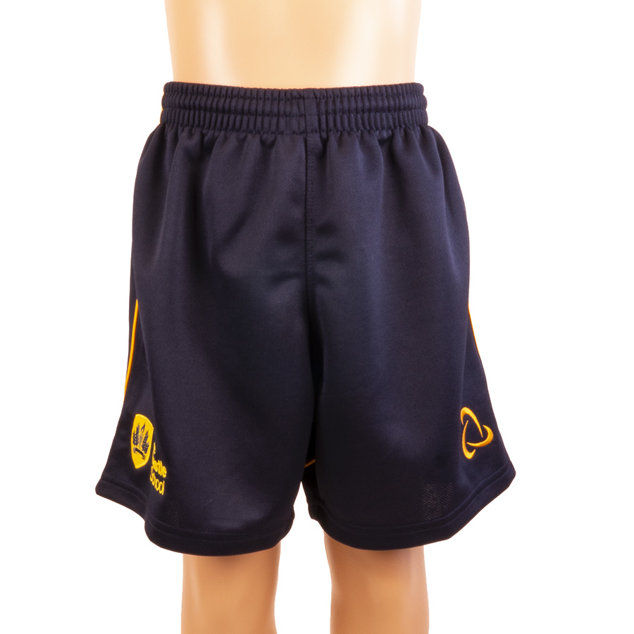 Castle School sports shorts