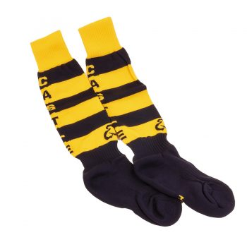 Castle School striped socks flat