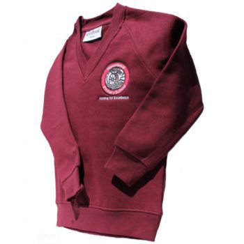 Manorbrook School V-Neck Jumper for Web site - June 2020