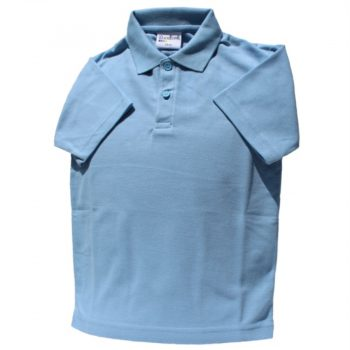 Manorbrook School polo Shirt Blue for Web site - June 2020