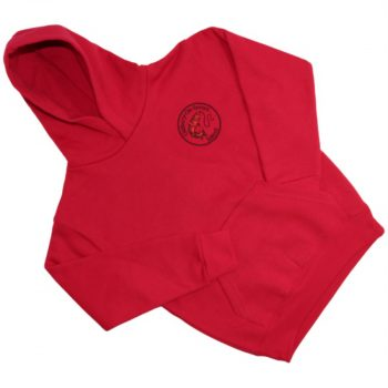 Oldbury School - Hoodie - Red - For Web Site - June 2020