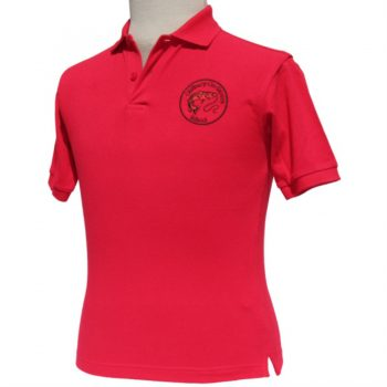 Oldbury School - Polo Shirt - Red - For Web Site - June 2020