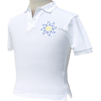 Severn Beach - White Polo Shirt - for web site - June 2020