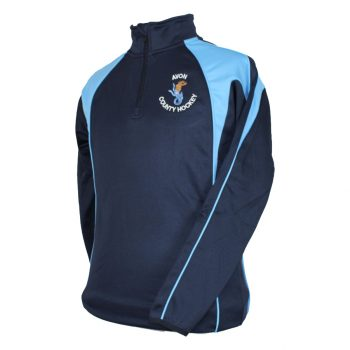 Avon Hockey Premium Panelled Mid Layer quarter zip