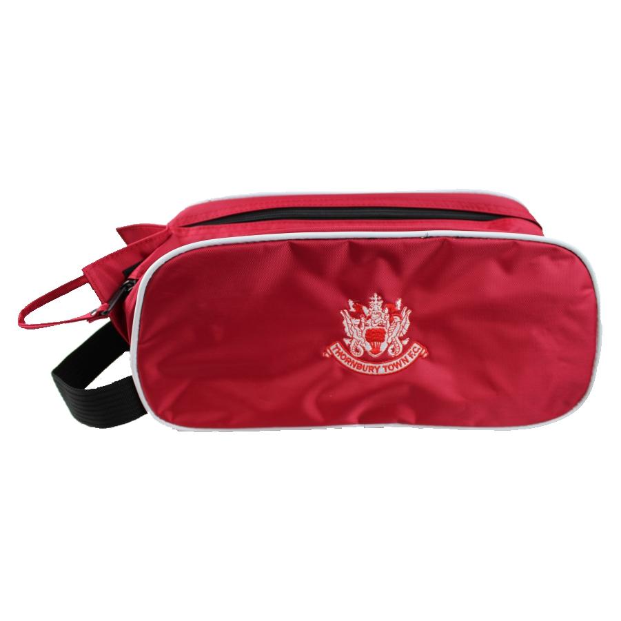 Thornbury Town FC - Boot Bag Red - Black