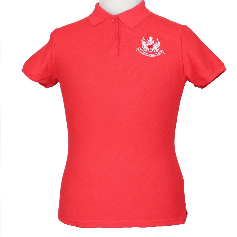 Thornbury Town FC - Ladies Fit - Polo Shirt - Red